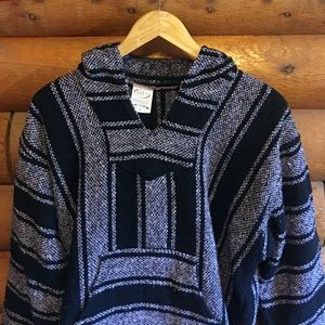 Sweaters - Authentic Mexican Baja hoodie pullover